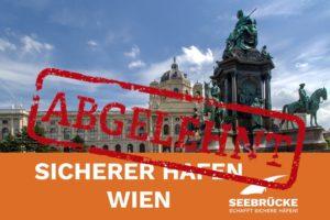 """Statement Ablehnung des Antrags """"Wien unterstützt das Bündnis """"Seebrücke"""""""" im Gemeinderat am 10.12.2020"""